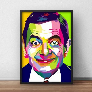 Placa Decorativa Mister Bean