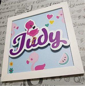 Porta de Maternidade - Flamingo Judy
