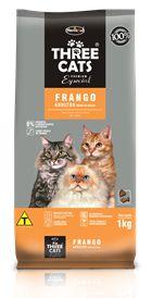 Ração Hercosul Three Cats Premium Especial Frango para Gatos ...