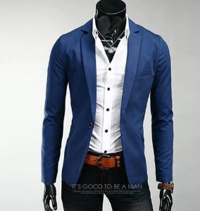 TERNO MASCULINO CASUAL SLIM FIT  2019