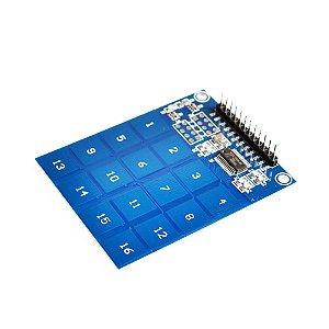 Sensor de Toque Capacitivo 16 canais XD-62B TTP229