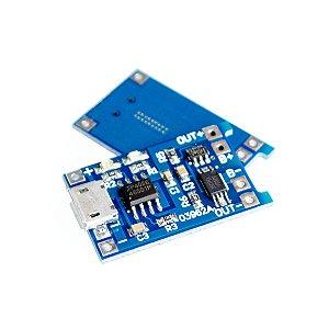 Módulo Carregador Micro USB 5v 1A 18650