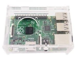 Case Acrílico para Raspberry Pi2 e B+