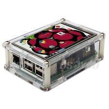 """Tela LCD 3,5""""  +  Case Box de Acrilico"""