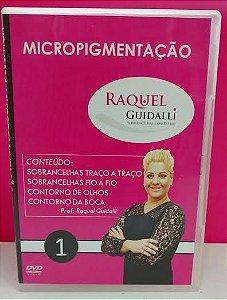 DVD - PASSO A PASSO DE MICROPIGMENTAÇÃO