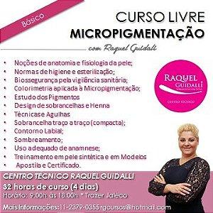 CURSO DE MICROPIGMENTAÇÃO BÁSICO