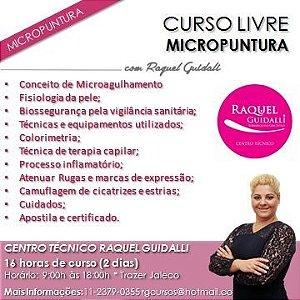 CURSO DE MICROPUNTURA - PARAMÉDICO