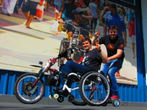 Kit Carona - Utilização em Kit de Motorização para Cadeira de Rodas