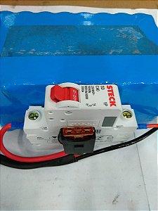 Bateria de Lítio Frog 36V 8.8AH - Carga Seca