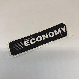 Etiqueta Adesiva com Película Plástica - Economy - Medida 85x23 (01 Unid)