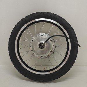 "Roda Motorizada Kit Livre - 350W / 600W Aro 16"" - Cor Preto - Way"