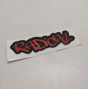 Etiqueta Adesiva com Película Plástica - Radical 1500W (01 Unid)