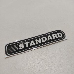 Etiqueta Adesiva com Película Plástica - Standard (01 Unid)