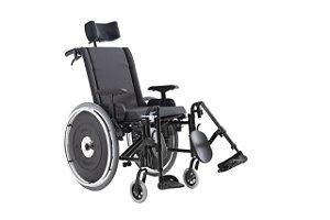 Cadeira de Rodas Modelo AVD Alumínio Reclinável - Ortobras