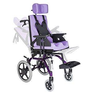 Cadeira de Rodas Modelo TPR Postural - Ortomobil
