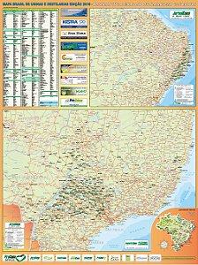 Mapa Brasil de Usinas e Destilarias 2016