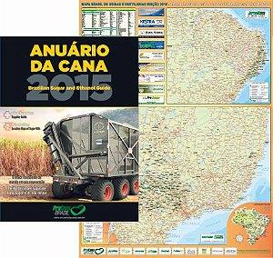 Anuário da Cana 2015 + Mapa de Usinas e Destilarias 2016