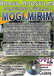 Mogi Mirim 2016 - Apostilas Nível Fundamental, Médio e Superior