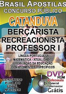 Catanduva 2016 - Apostila Para Ensino Médio e Superior - Diversos Cargos
