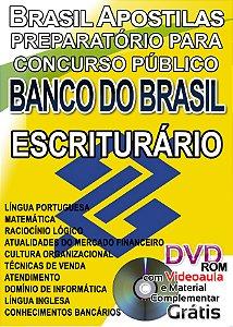 Banco do Brasil 2016/2017 - Escriturário - Apostila Preparatória