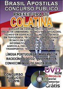 Colatina - ES 2016 - Apostila para ensino médio, técnico e superior