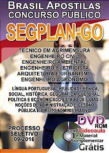 SEGPLAN - GO 2016 - Apostila para Nível Técnico e Superior