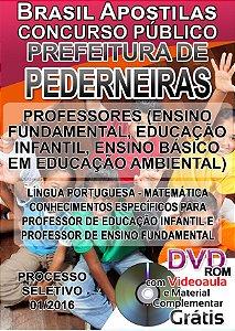 Pederneiras - SP 2016 - Apostila Para Ensino Superior