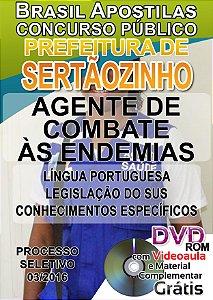 Sertãozinho - SP 2016 - Apostila Para Nível Fundamental