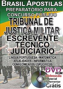 Tribunal de Justiça Militar do Estado de São Paulo - TJM/SP - 2017 - Apostila Preparatória