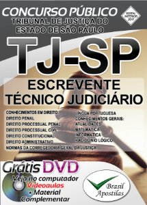 Tribunal de Justiça de São paulo - TJ-SP - Escrevente Técnico Judiciário - Apostila Preparatória