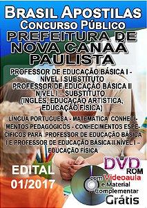 Nova Canaã Paulista - SP - 2017 - Apostila para Professor