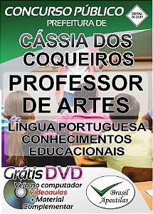 Cássia dos Coqueiros - SP - 2017 - Apostila para Professor de Artes