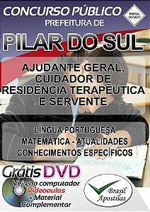 Pilar do Sul - SP - 2017 - Apostilas para Nível Médio e Superior