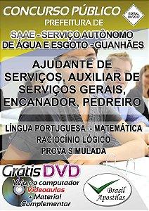 SAAE - Serviços Autônomo de Água e Esgoto de Guanhães - MG - 2017