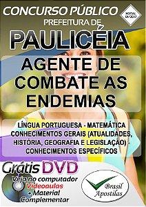Paulicéia - SP - 2017 - Apostila para Agente de Combate as Endemias