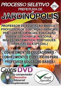 Jardinópolis - SP - 2017 - Apostilas para Professores