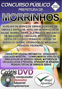 Morrinhos - GO - 2017 - Apostilas para Nível Fundamental, Médio e Superior