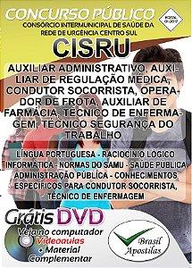 CISRU - MG -  2017 - Apostila para Nível Médio, Técnico e Superior