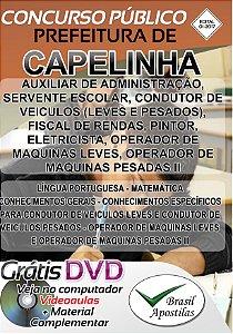 Capelinha - MG - 2017 - Apostilas Para Nível Fundamental, Médio, Técnico  e Superior