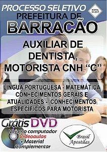 Barracão - PR - 2017 - Apostilas Para Nível Fundamental, Médio e Superior