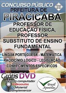Piracicaba - SP - 2017 - Apostila Para Professores - Ed. Física e Ensino Fundamental
