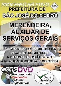 São José do Cedro - SC - 2017 - Apostilas Para Nível Fundamental, Médio e Superior
