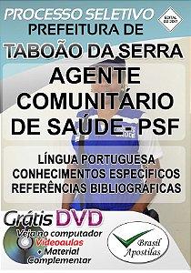 Taboão da Serra - SP - 2017 - Apostila Para Nível Fundamental