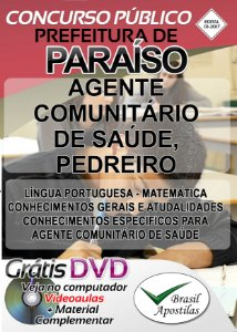 Paraíso - SP - 2017 - Apostilas Para Nível Fundamental, Técnico e Superior