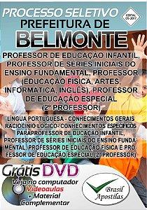 Belmonte - SC - 2017 - Apostila Para Nível Superior