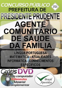 Presidente Prudente - SP - 2017 - Apostilas Para Nível Fundamental, Médio e Superior