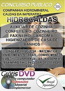 Hidrocaldas - SC - 2017 - Apostilas Para Nível Fundamental, Médio e Técnico