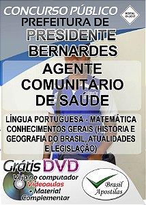 Presidente Bernardes - SP - 2017 - Apostilas Para Nível Fundamental e Superior