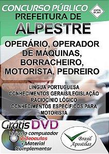 Alpestre - RS - 2017 - Apostilas Para Nível Fundamental, Médio, Técnico e Superior