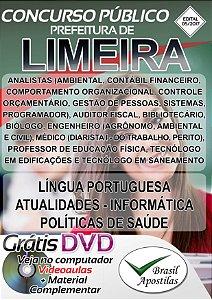 Limeira - SP - 2017 - Apostila Para Nível Superior